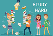 The study was too heavy and can not be accepted. Teachers don't care student.