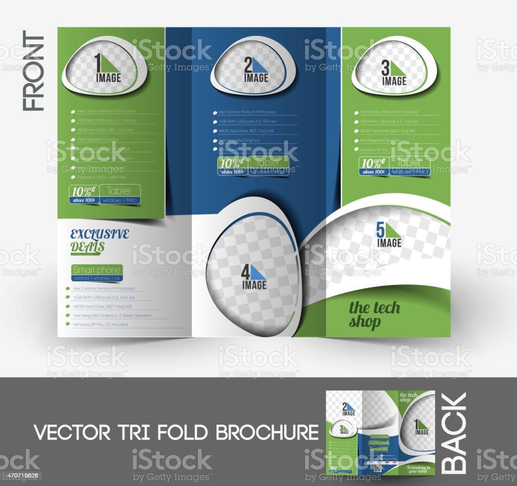 The Tech Shop Tri-Fold Brochure