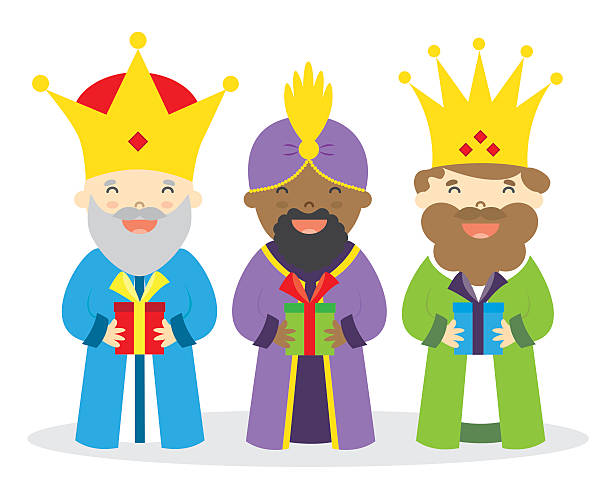 Royalty Free Three Kings Day Clip Art, Vector Images