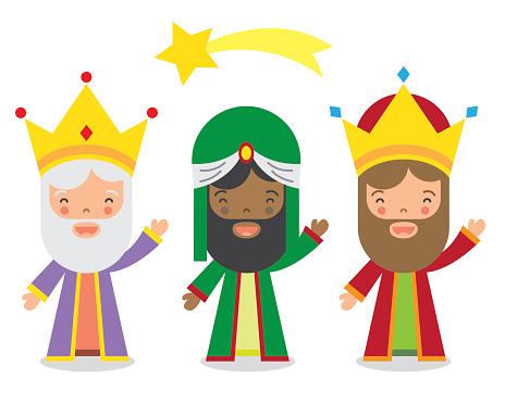 The Three Kings Of Orient - Arte vetorial de stock e mais imagens de Adulto