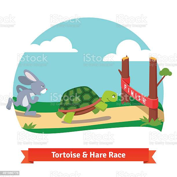 The tortoise and the hare racing together to win vector id491986776?b=1&k=6&m=491986776&s=612x612&h=tzb8oa6frpjhgfmovnrzrbkh4nw nx hwu d5cudwba=