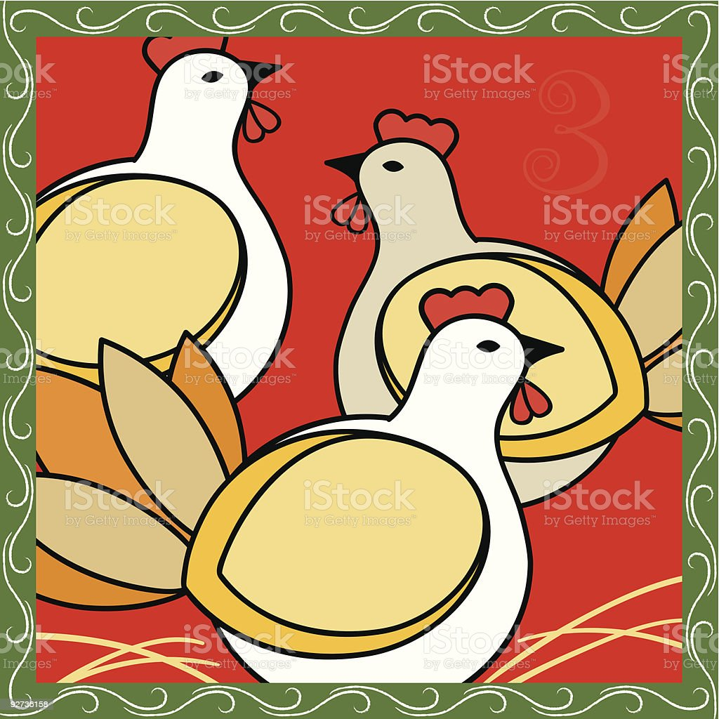 The Twelve Days of Christmas Vector Series royalty-free the twelve days of christmas vector series stock vector art & more images of bird