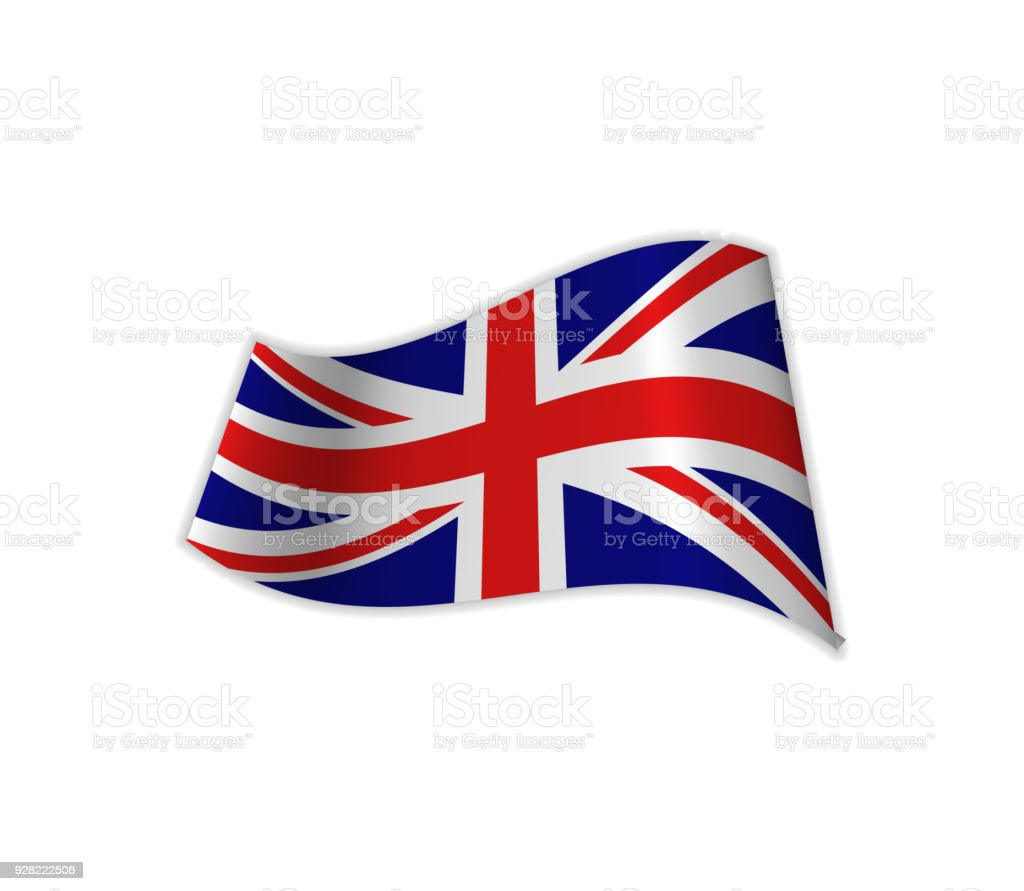 The UK Flag. vector art illustration