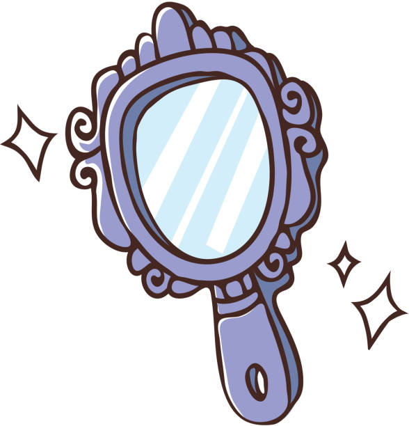 Royalty Free Hand Mirror Clip Art Vector Images