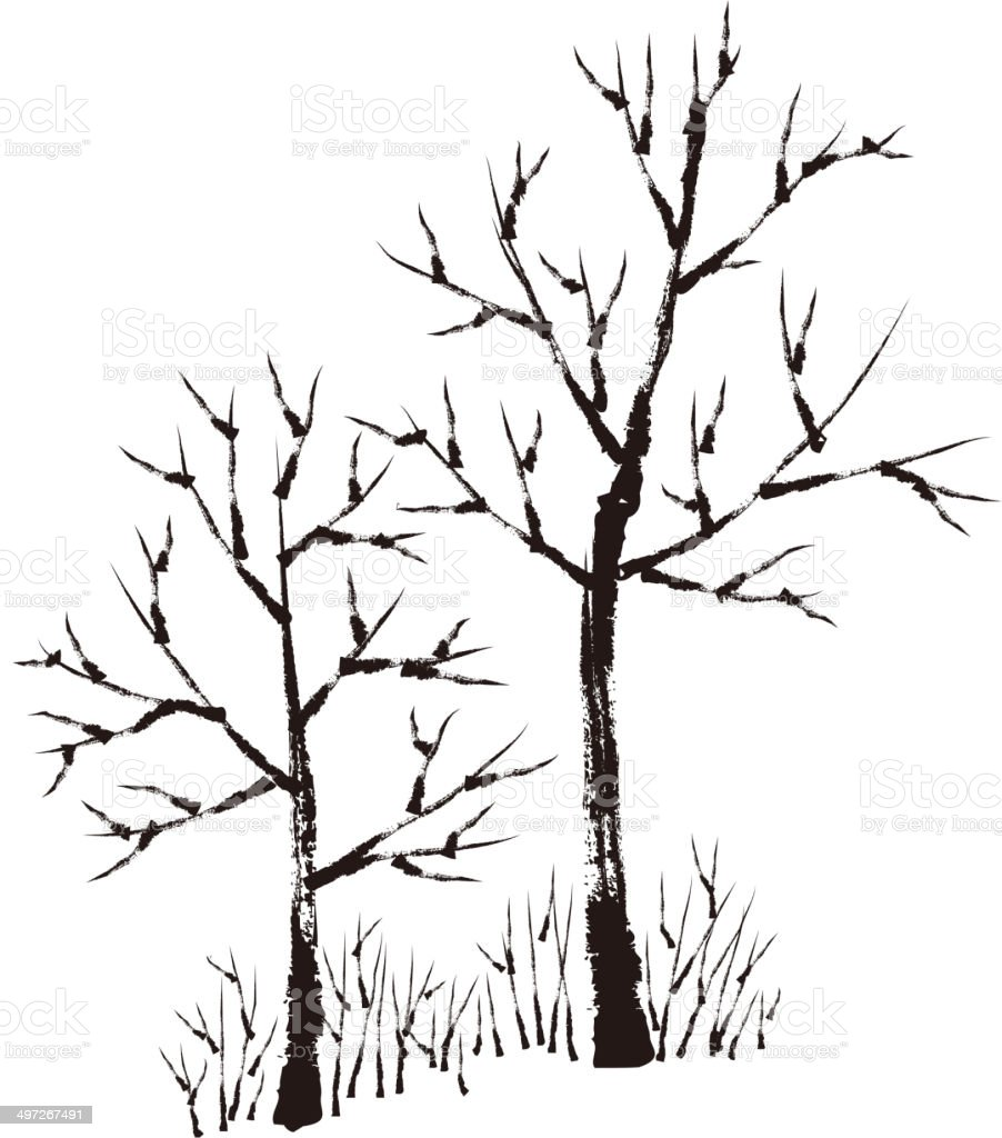 The view of tree royalty-free the view of tree stock vector art & more images of art product