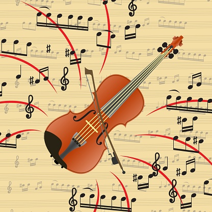 The violin is a bowed musical instrument.