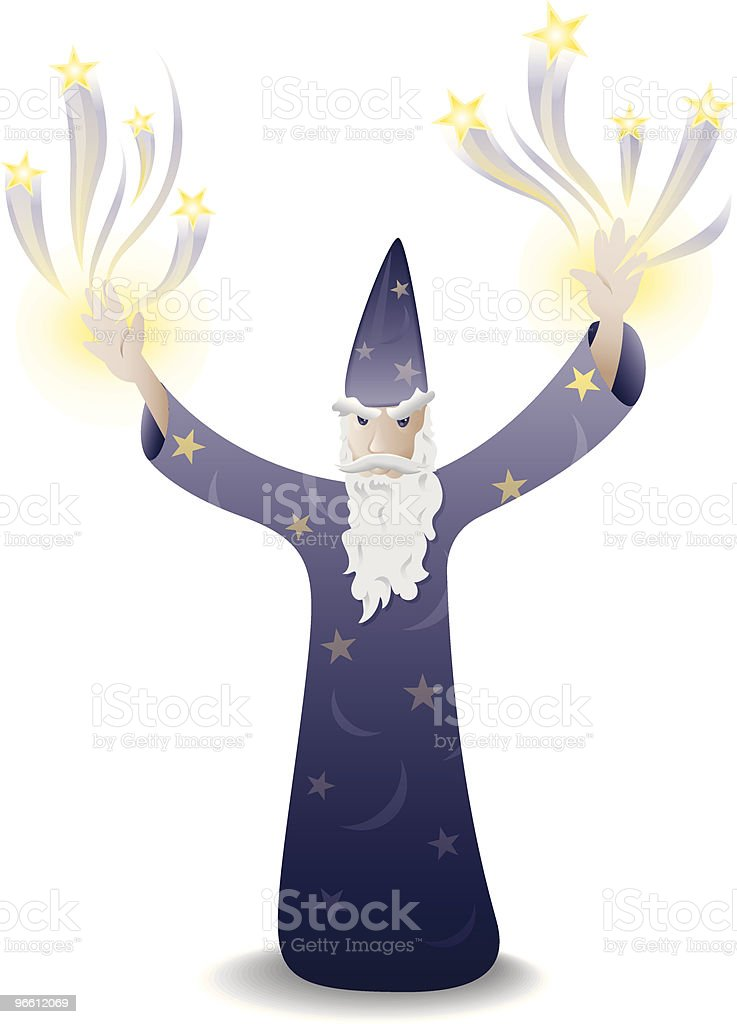 The Wizard - Royalty-free Adult stock vector