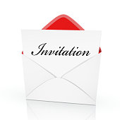 the word invitation on a card