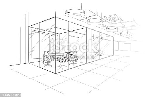 istock The Workplace Illustration. 1145922320