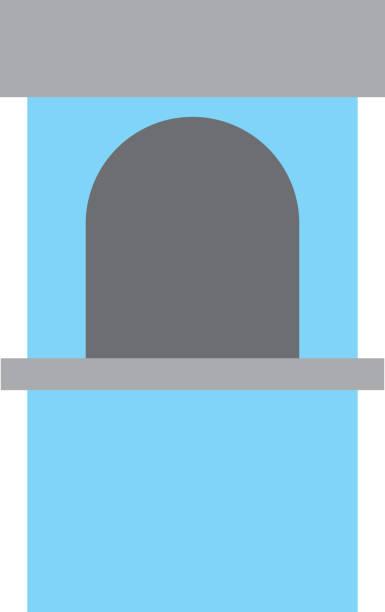 Icono de la taquilla de teatro - ilustración de arte vectorial
