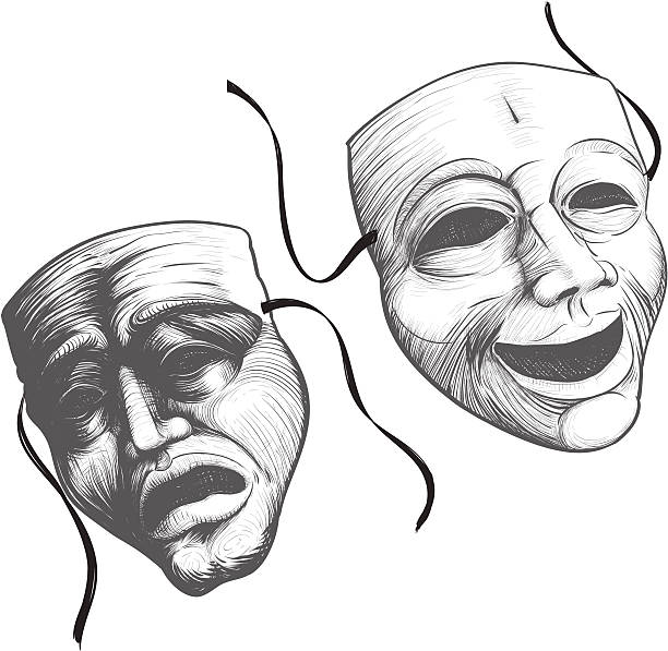 Royalty Free Theater Mask Clip Art, Vector Images ...