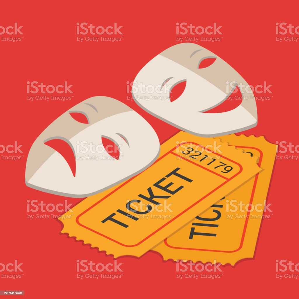 Excepcional Plantilla De Ticket De Teatro Modelo - Colección De ...