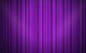 Theater velvet curtain hanging background.