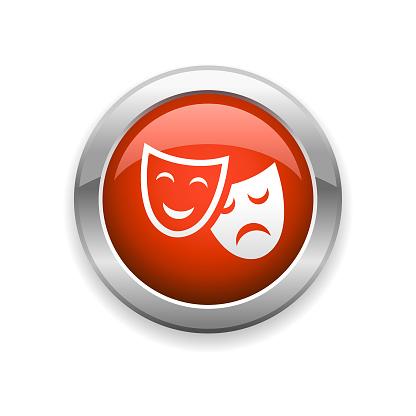 Theatre and Drama Glossy Icon
