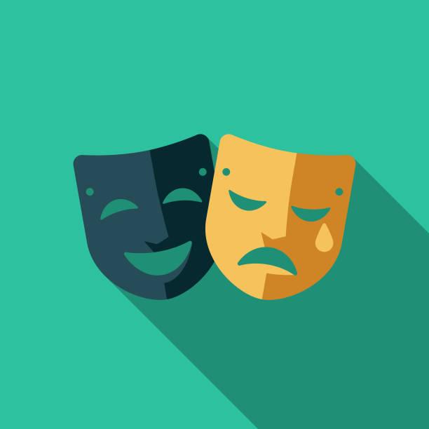 illustrations, cliparts, dessins animés et icônes de icône de théâtre plat design royaume-uni - theatre