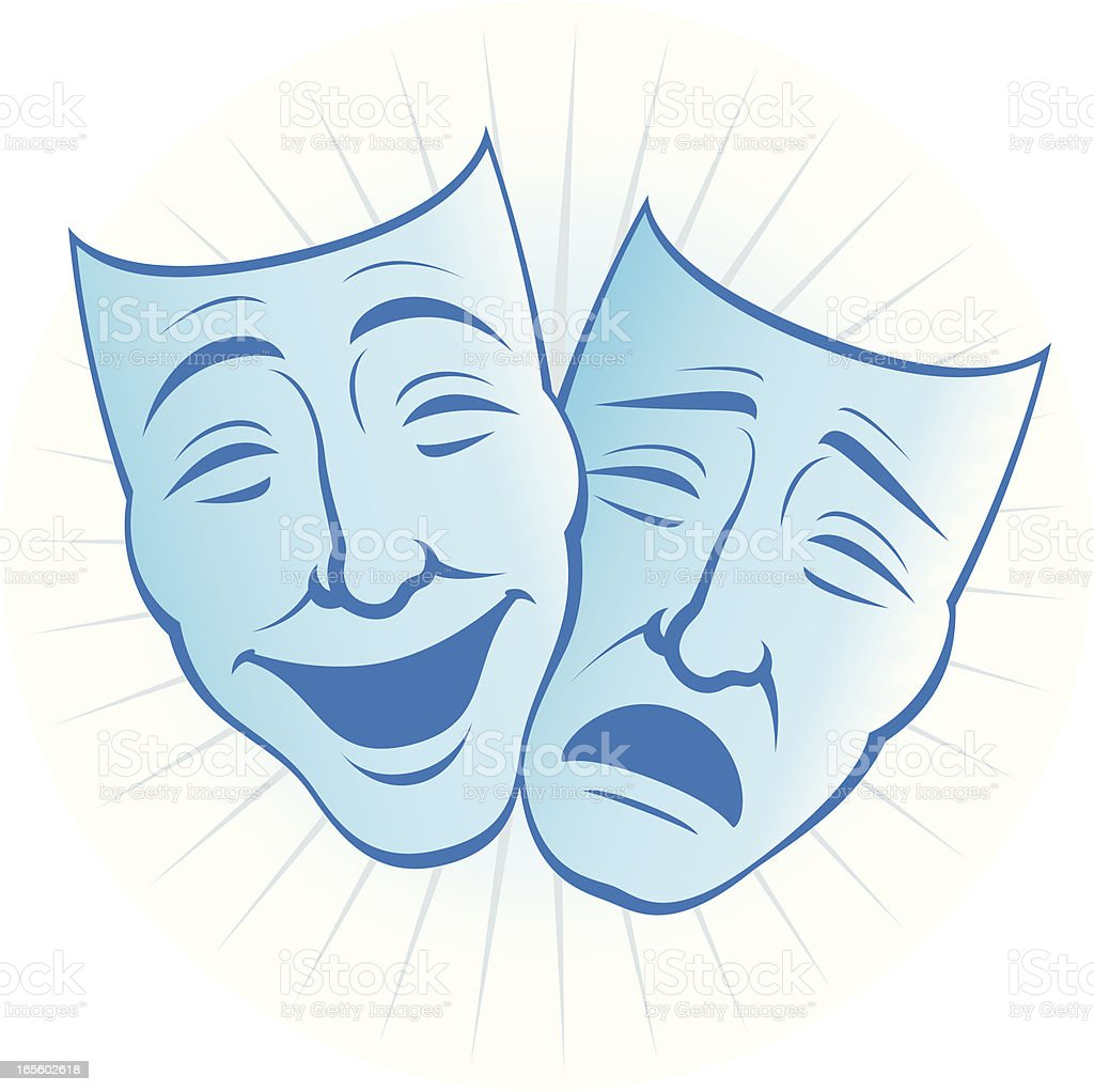 theatre masks stock vector art   more images of acting theater clip art theater clip art free