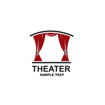 theatrical scene icon