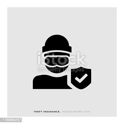 Theft Insurance Icon