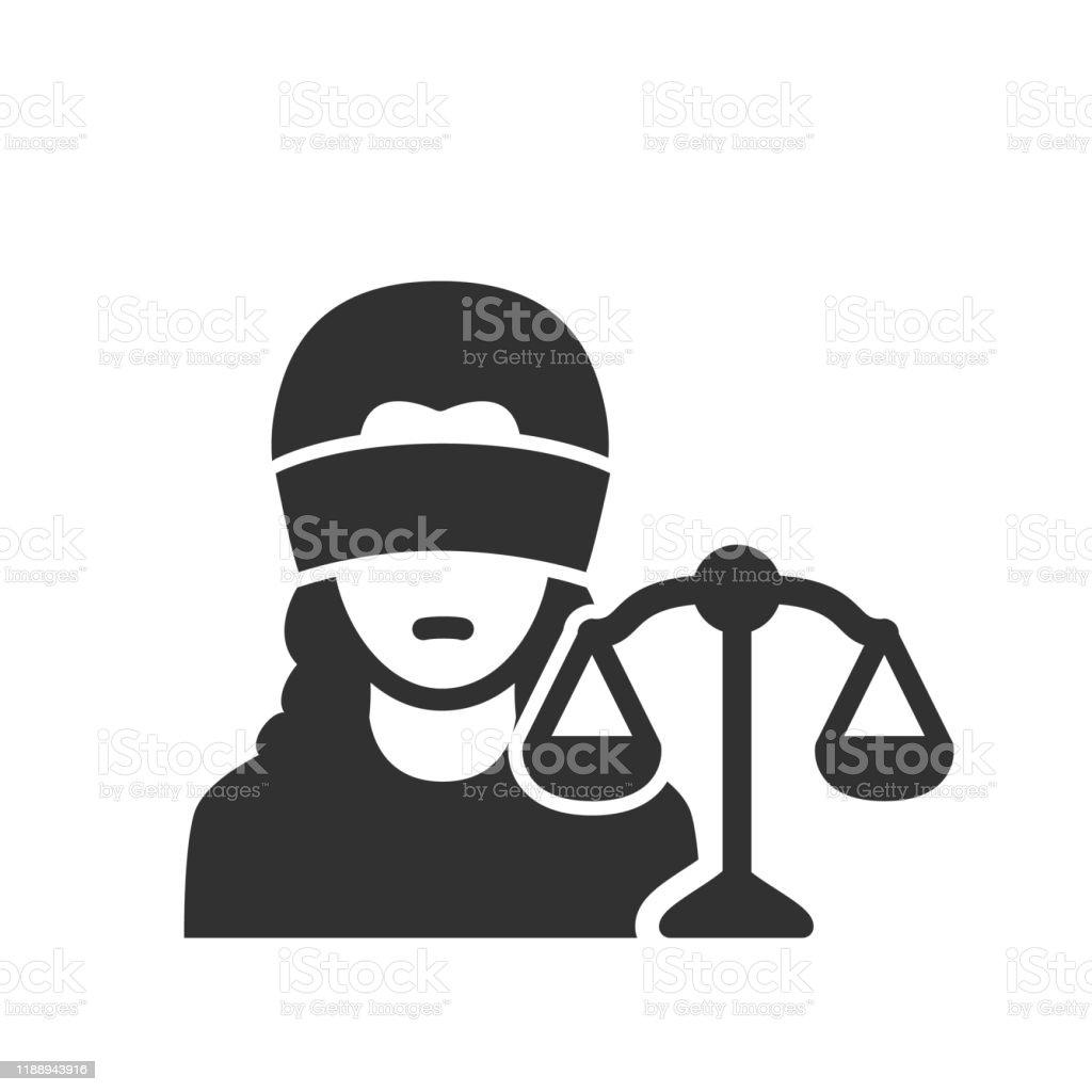 https www istockphoto com tr vekt c3 b6r themis g c3 b6zleri ba c4 9fl c4 b1 ve adalet terazisi olan bir kad c4 b1n mahkeme gm1188943916 336461727