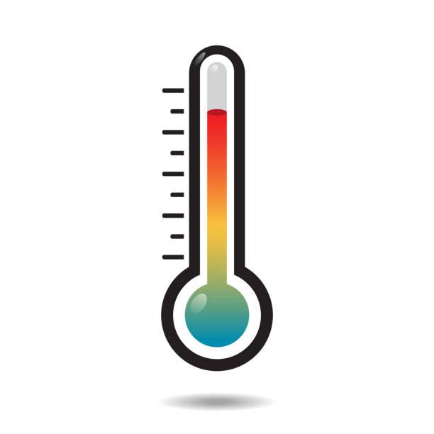 Icono de termómetro - ilustración de arte vectorial