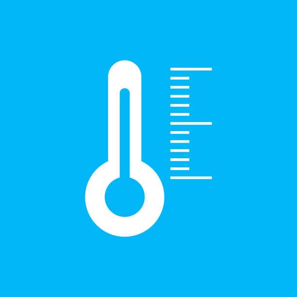 bildbanksillustrationer, clip art samt tecknat material och ikoner med indikatorer termometern. vektorillustration - barometer