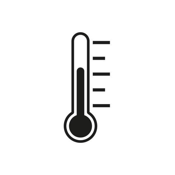 溫度計。向量平面設計 - 寒冷的 幅插畫檔、美工圖案、卡通及圖標