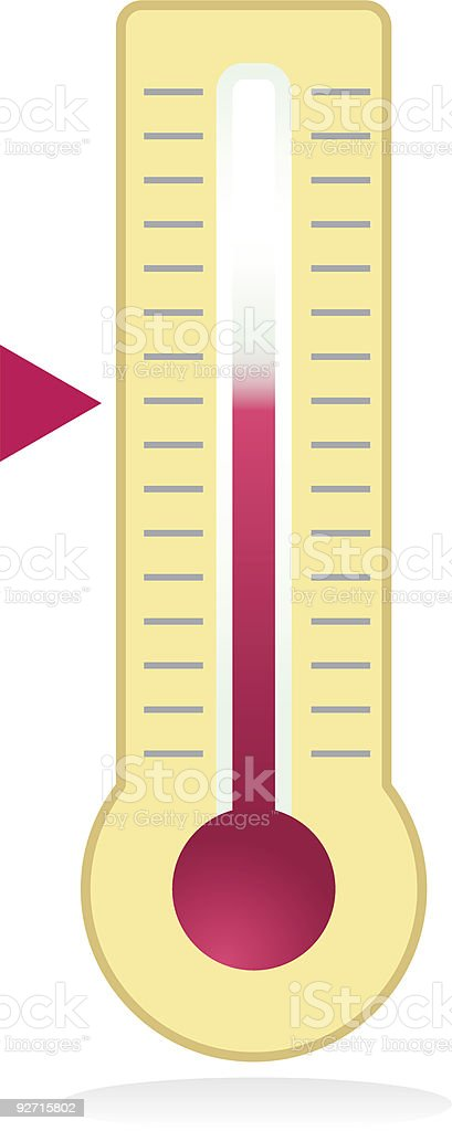 Thermometer royalty-free thermometer stock vector art & more images of cold temperature