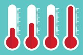 Thermometers icon