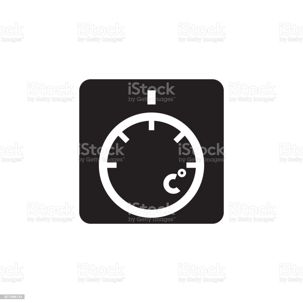 thermostat icon vector illustration stock vector art more images