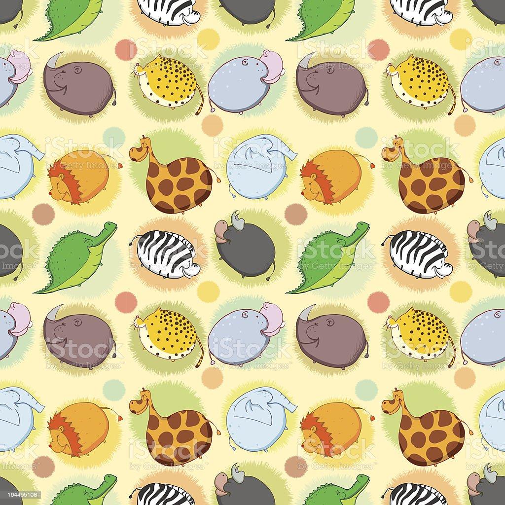 アフリカの動物のシームレスな壁紙 のイラスト素材 164455108 | istock