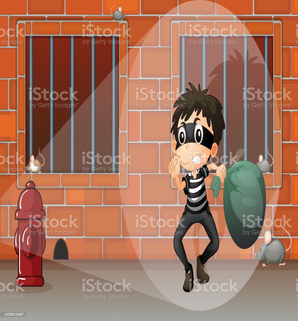 Thief at the jail royalty-free thief at the jail stock vector art & more images of adult