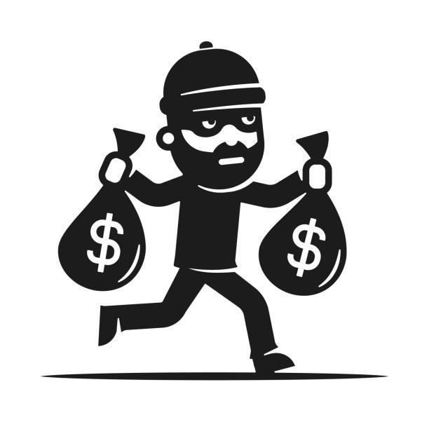 Best Burglar Illustrations, Royalty-Free Vector Graphics