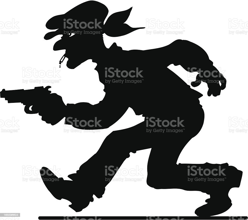 Thief royalty-free thief stock vector art & more images of burglar