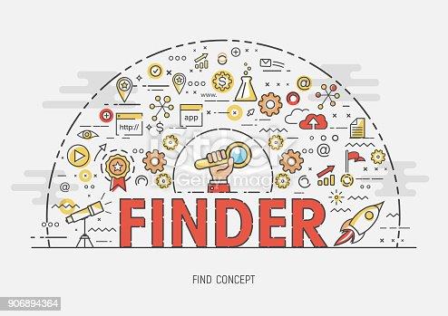 istock Thin Concept - Finder 906894364