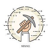 Thin Hands Concept - Mining