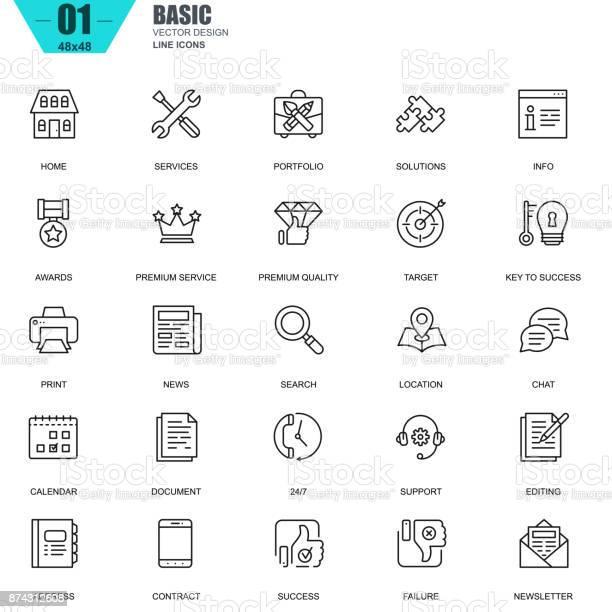 Thin line basic icons set for website and mobile site vector id874312608?b=1&k=6&m=874312608&s=612x612&h=r1u9va9jakxo9twbigcfii8ibokvp k2j79ciperv 8=