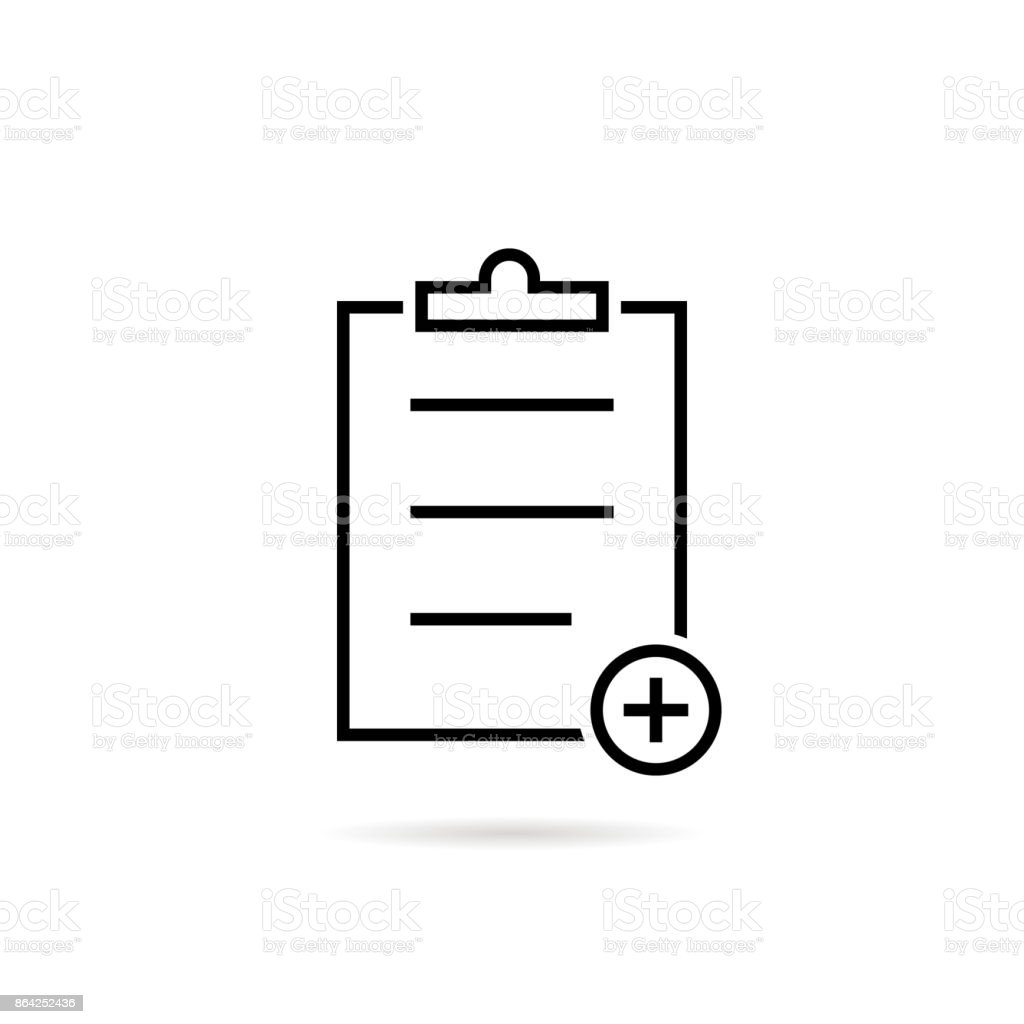 thin line black medical prescription icon royalty-free thin line black medical prescription icon stock vector art & more images of badge