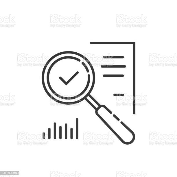 Thin line magnifying glass like audit assess vector id901800580?b=1&k=6&m=901800580&s=612x612&h=cpzkhbef01luse0eyageo5iwrkklfr9n4petxnvwsmw=