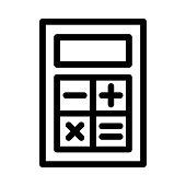 Thin Line Vector Icon