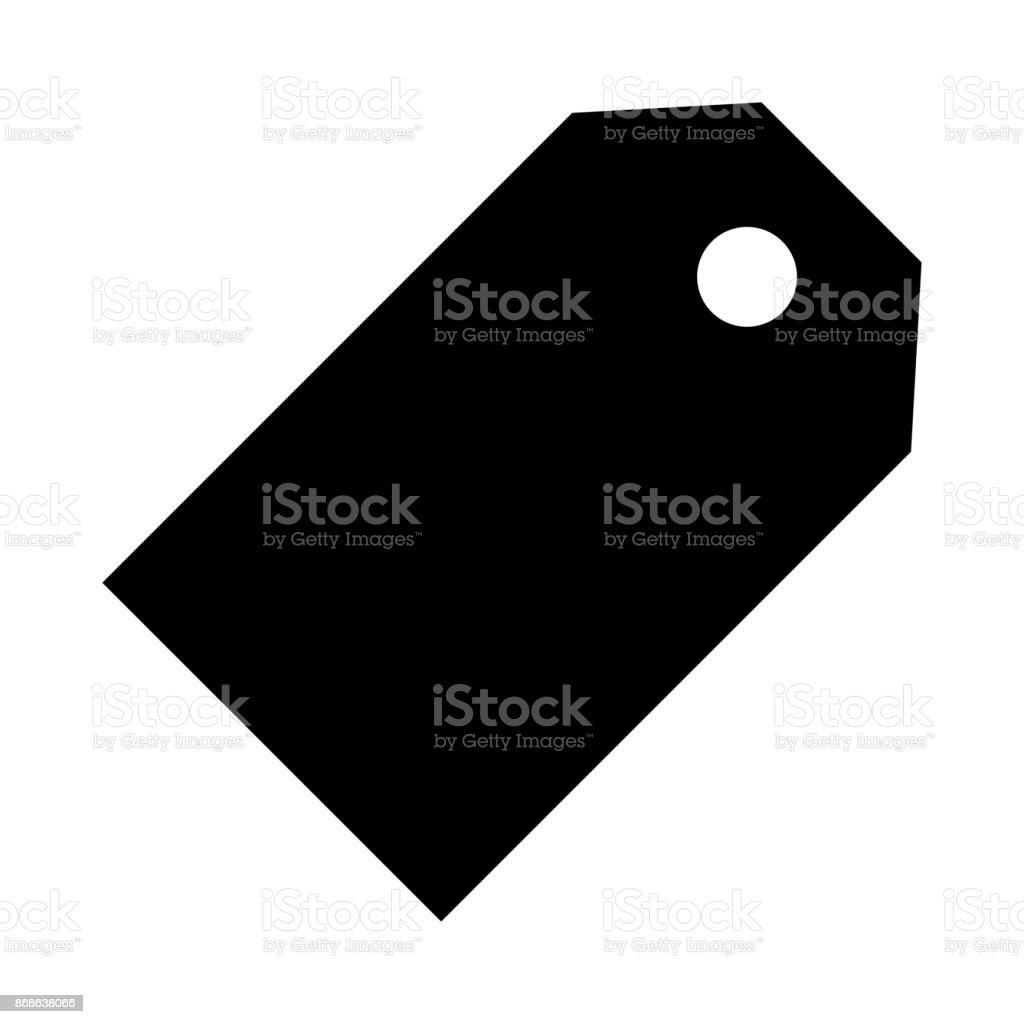 TAG thin line vector icon