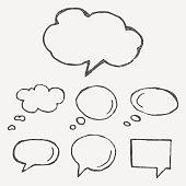 Think cloud symbols
