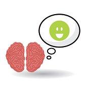Think design, postive and idea concept