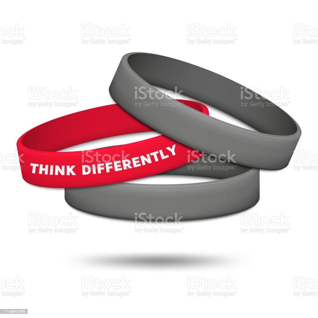 achats belle qualité grande qualité Penser Différemment Concept Être Différent Et Individualité ...