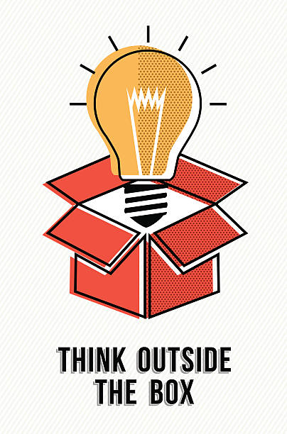Think Outside The Box Clipart