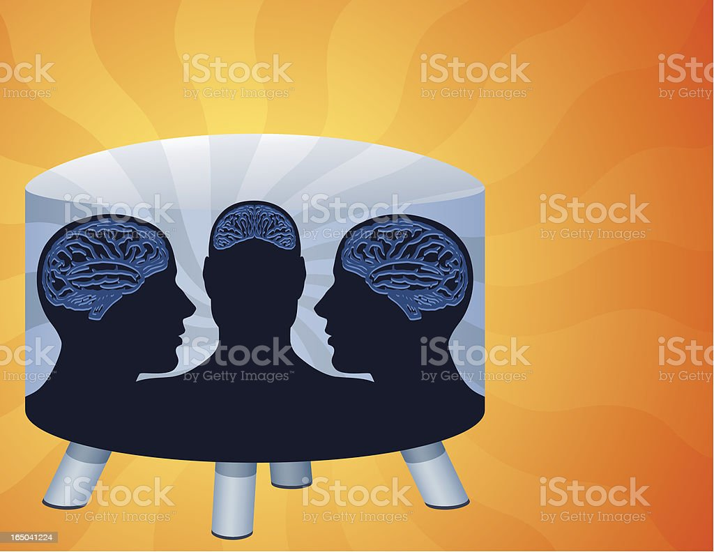 Think Tank royalty-free think tank stock vector art & more images of blue