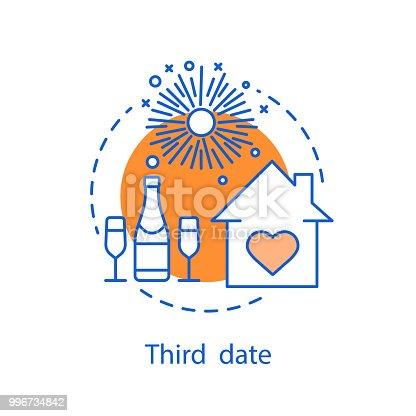 istock Third date icon 996734842