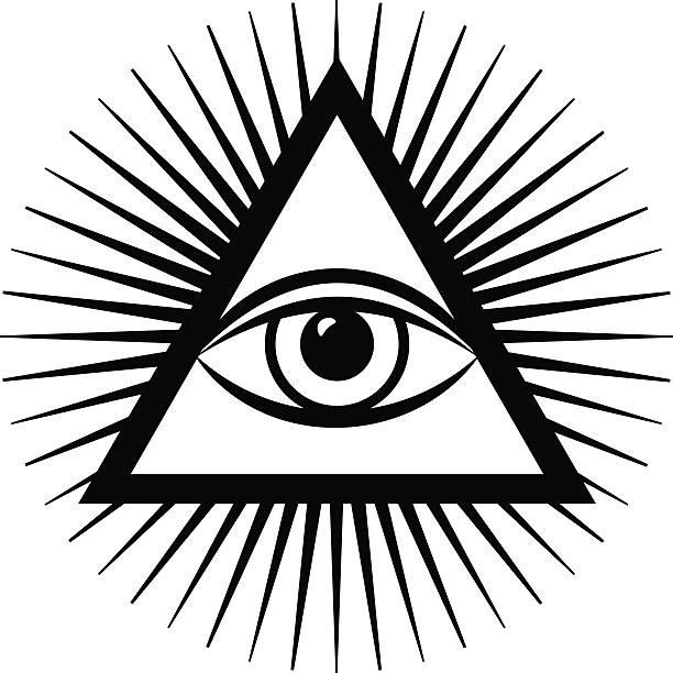 Best All Seeing Eye Illustrations, Royalty-Free Vector ...