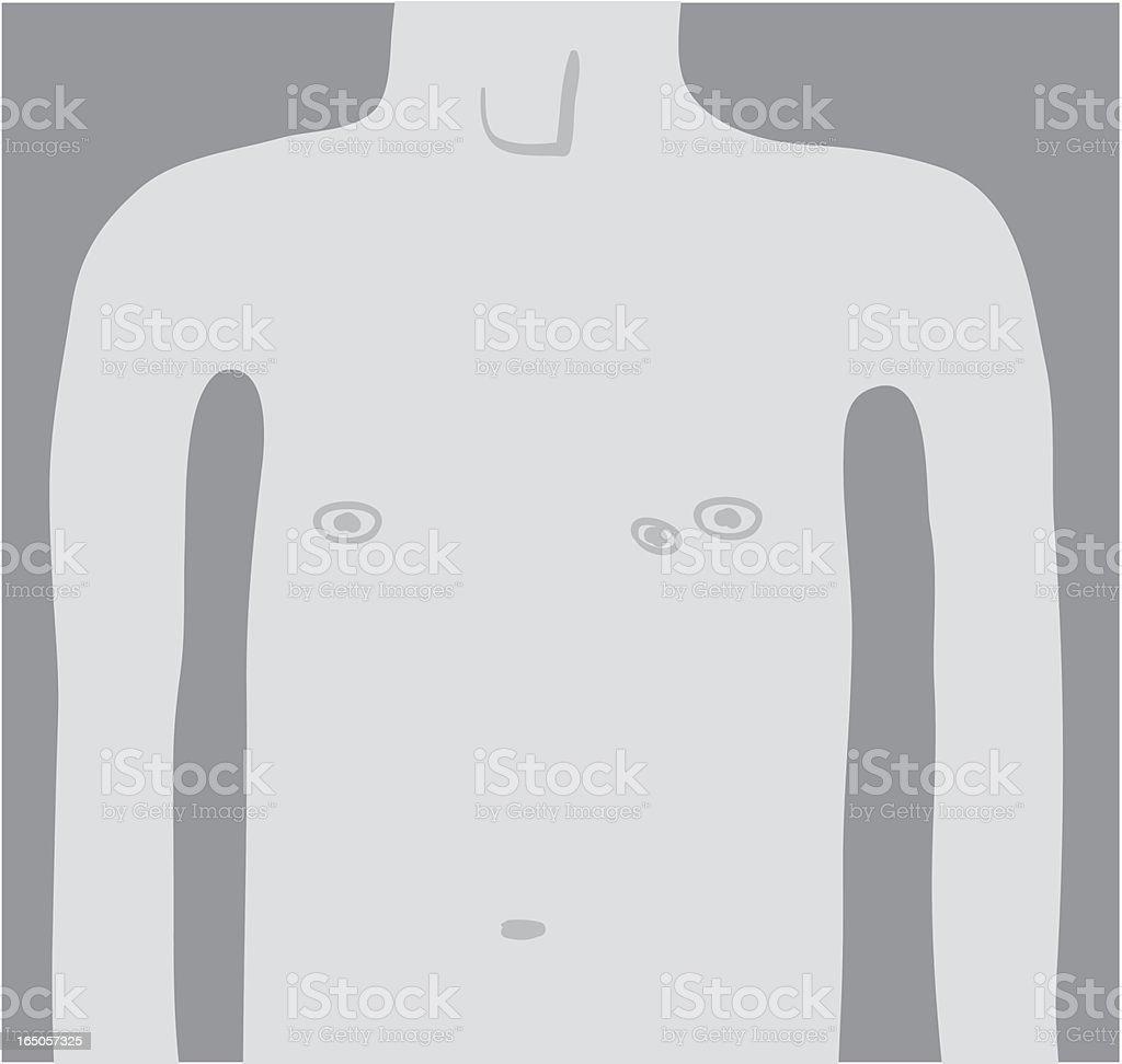 Third Nipple royalty-free stock vector art