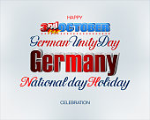Third of October, German National holiday