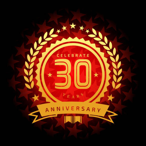 Download Best 30th Anniversary Illustrations, Royalty-Free Vector ...